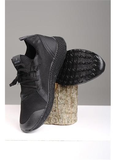 Oksit Axs 705 Triko Erkek Sneaker Siyah